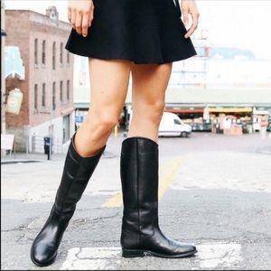 Frye• Melissa Button Boot Black